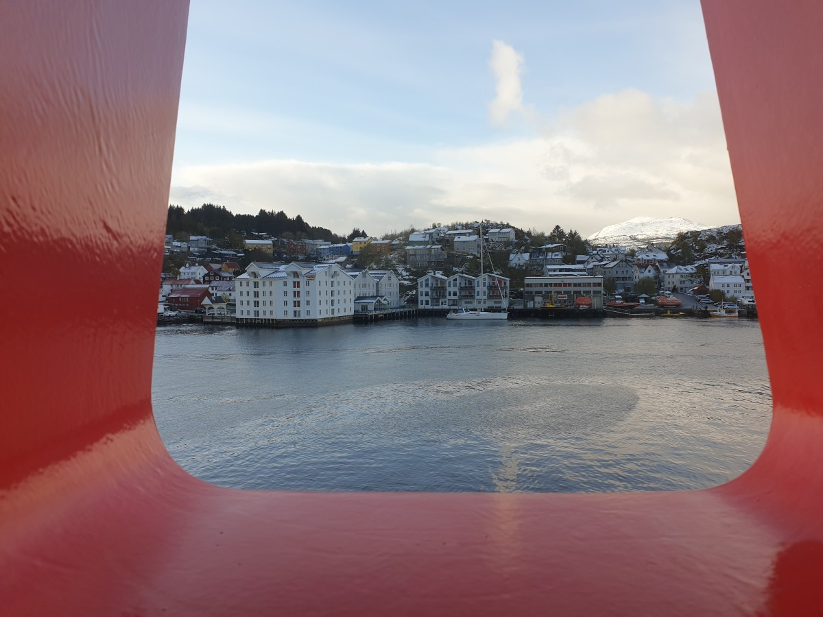 The cabin view of our consultant during the stay in Stavanger.